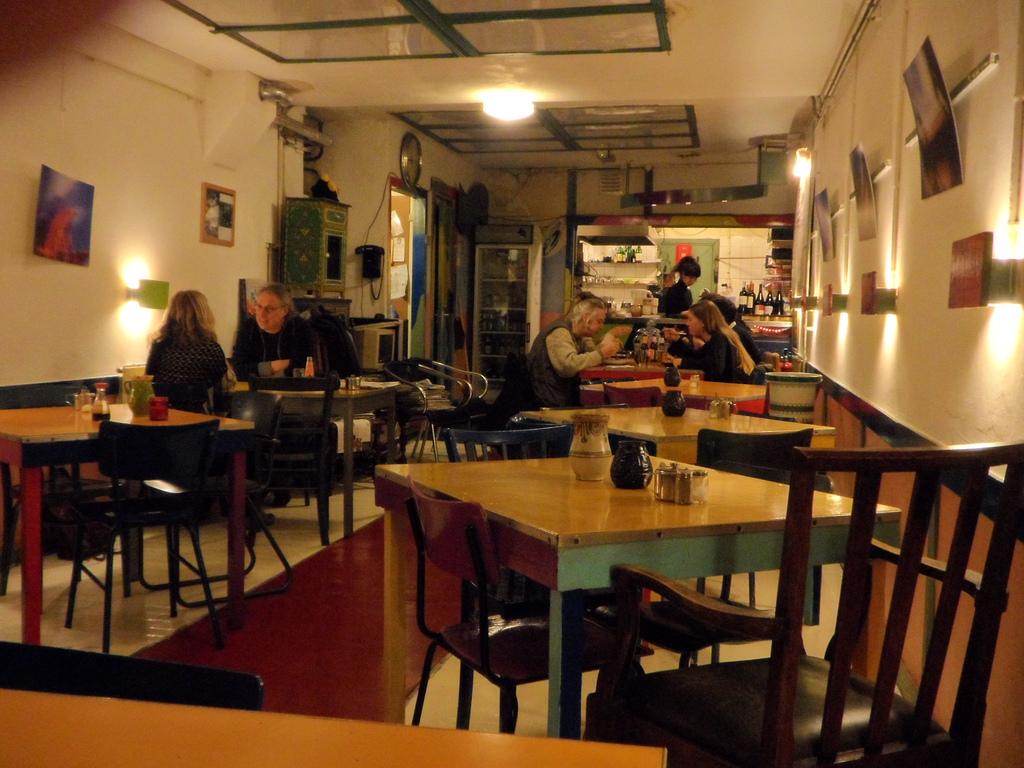 Vliegende Schotel Restaurant amstedam
